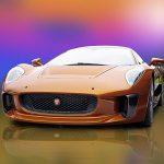 Jaguar C-X75 Bond 007 Spectre Stunt car