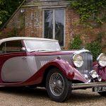 1935 Derby Bentley Drop head 3.5L