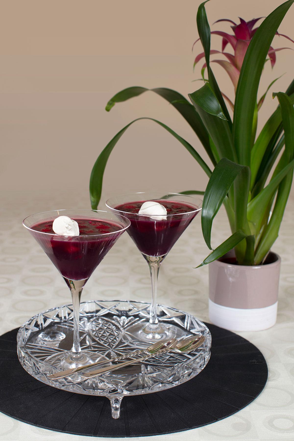 Raspberries-In-Red-Wine-Jelly